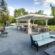 Bluestone Patio, Fire Pit, Pergola, Rotisserie & Outdoor Kitchen Northbrook IL