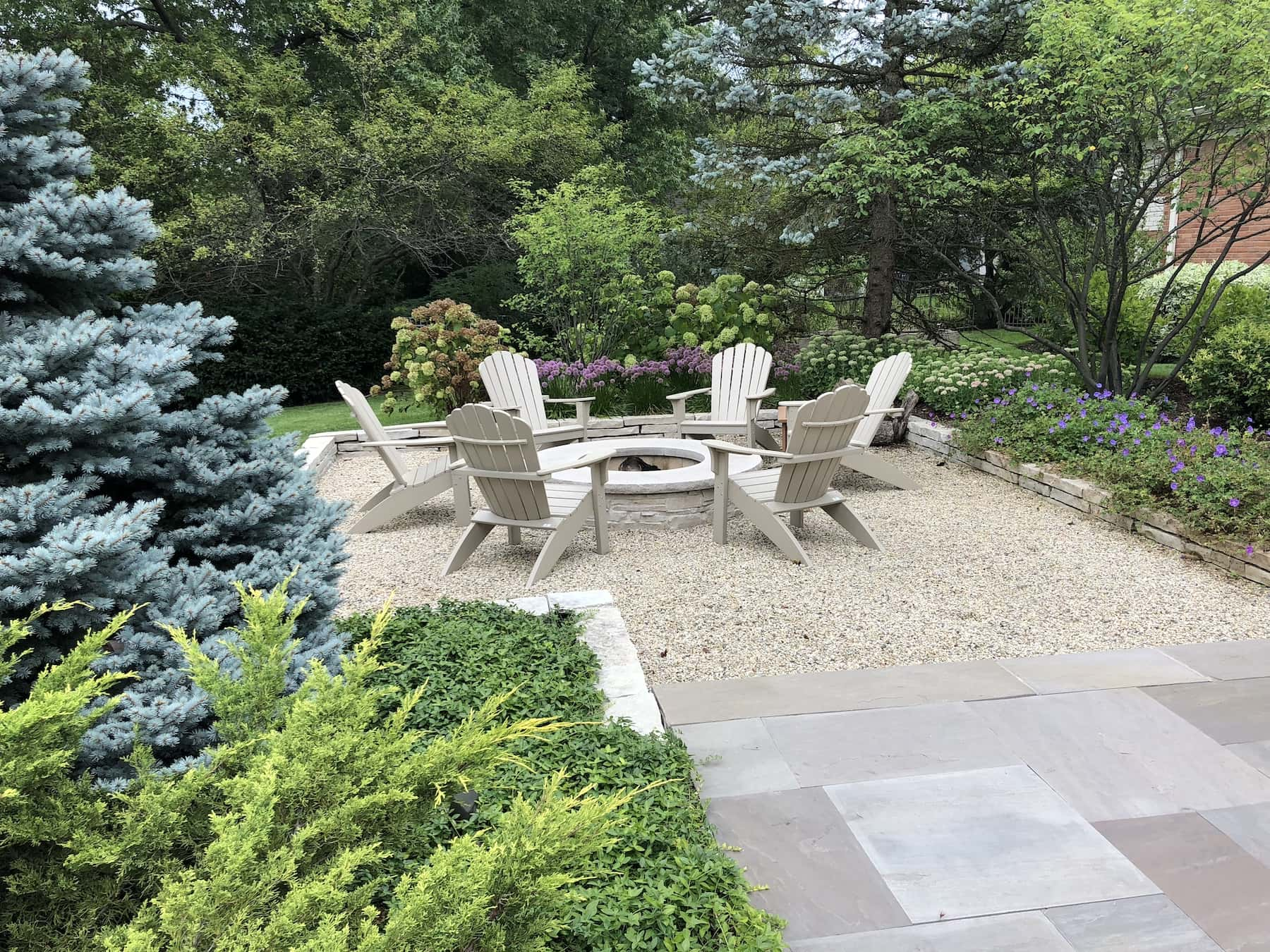 Fire Pit Paver Patio Landscaping Northfield, IL