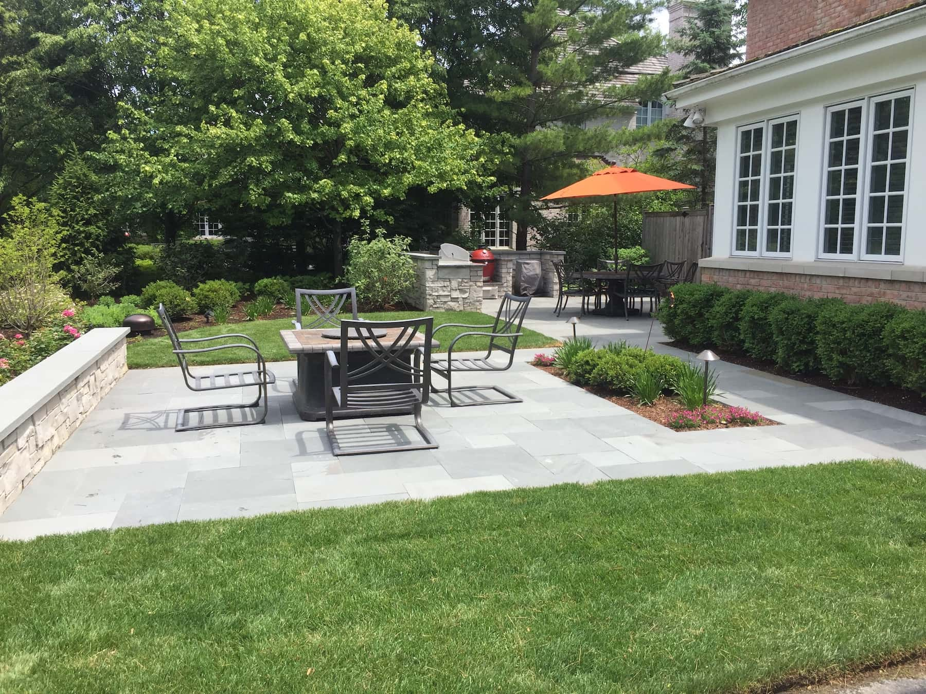 Paver Patio & Fire Pit Lake Forest IL