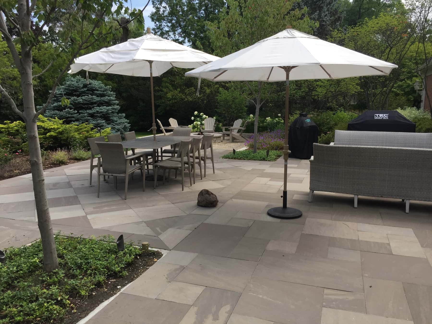 Paver Patio Outdoor Dining Northfield, IL