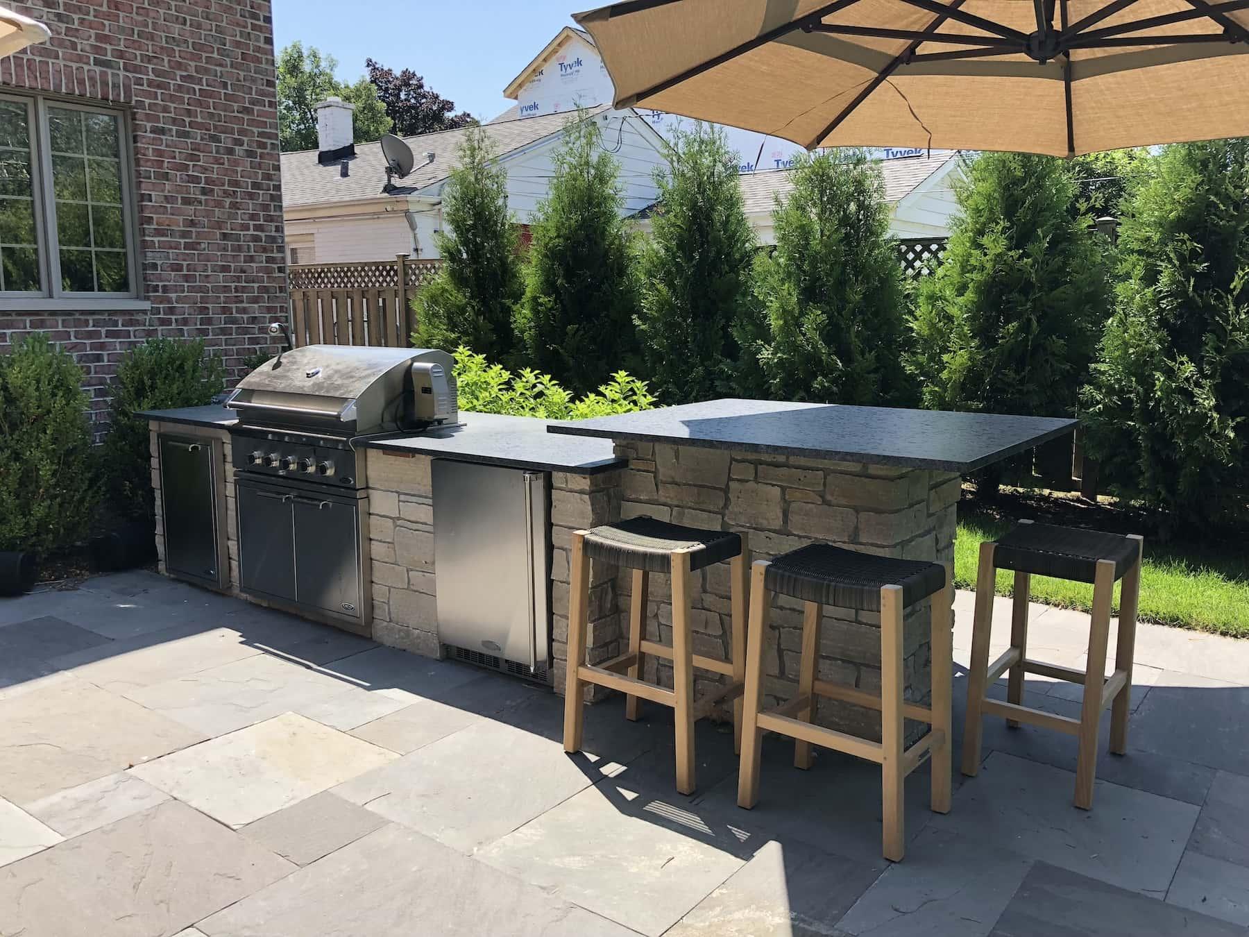 Outdoor Kitchen Bar Glenview, IL