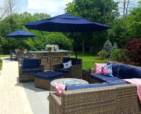 Paver Patio Outdoor Furniture Outdoor Kitchen Lake Bluff IL