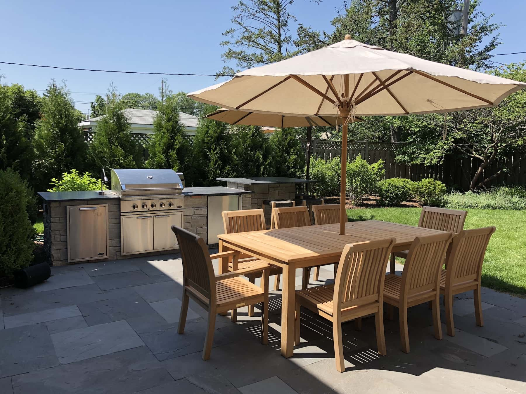Paver Patio Outdoor Kitchen Outdoor Dining Glenview, IL