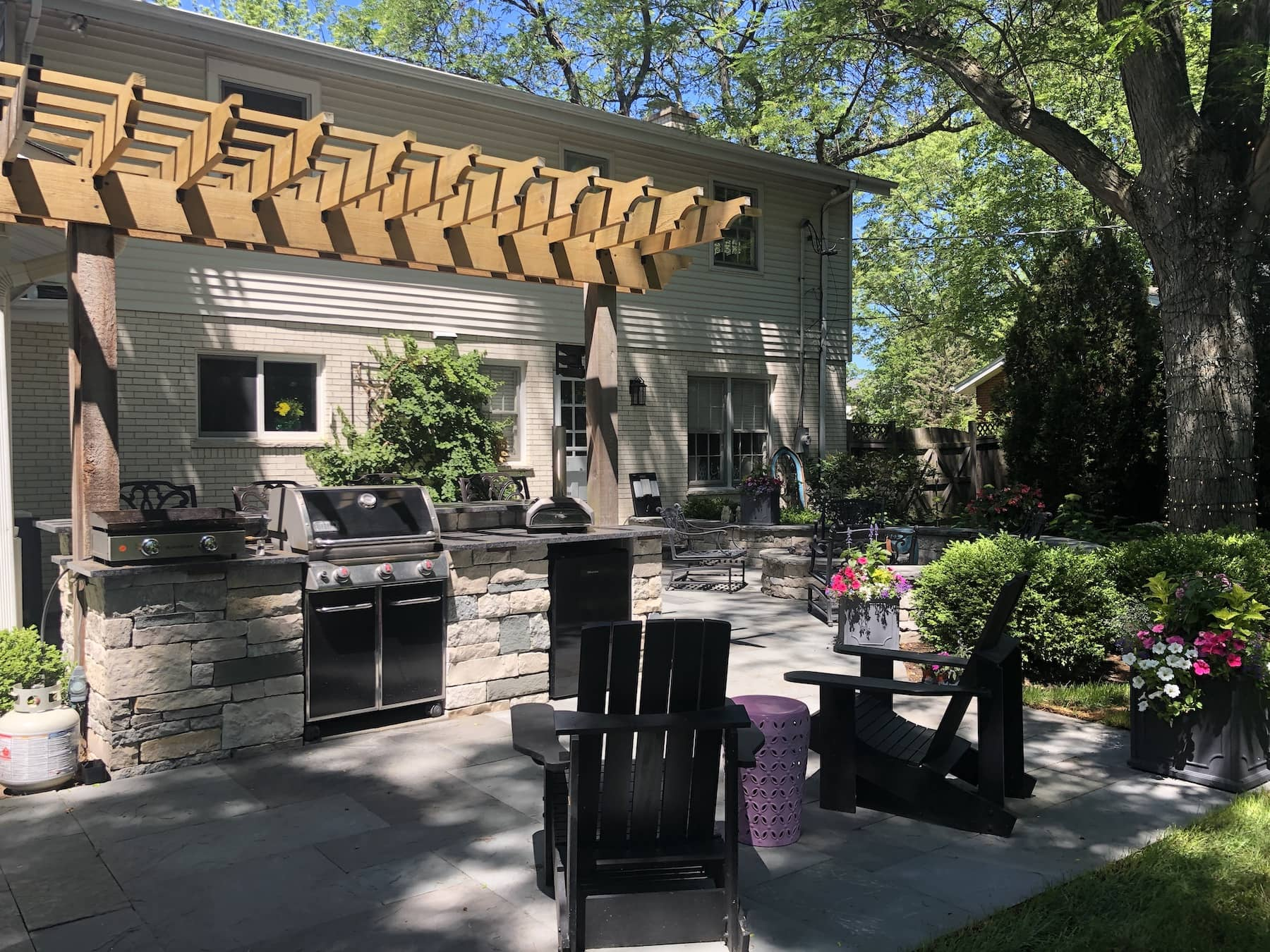 Outdoor Kitchen Hibachi Grill Northbrook IL